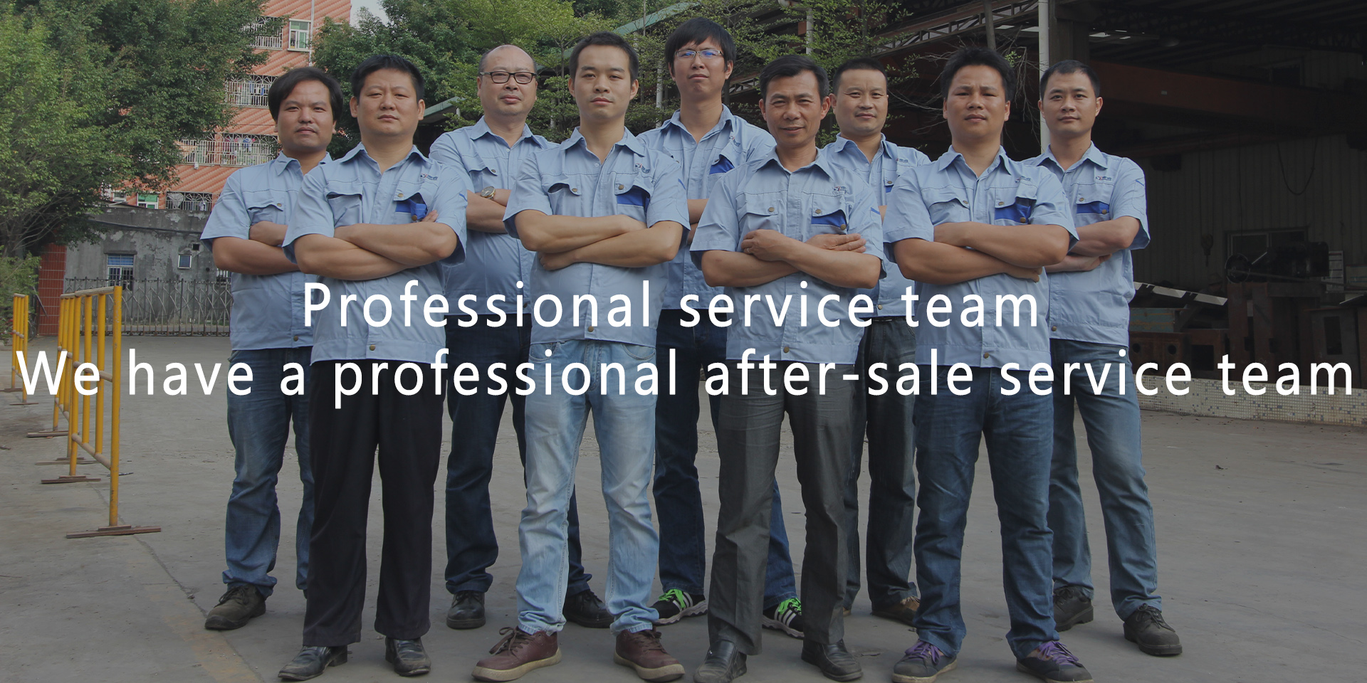 Professional service team