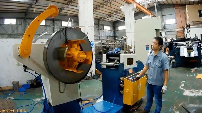 Metal Hinge Making Machine