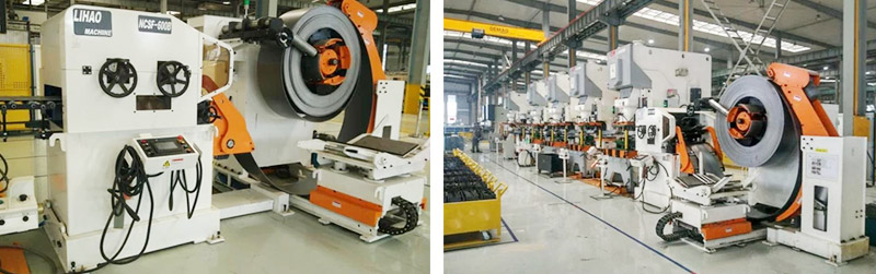 Press Feeding Line for Automotive Industry