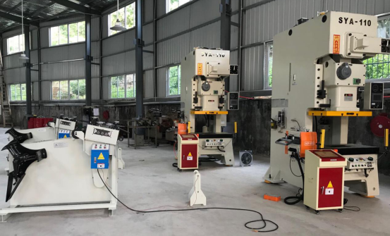NC servo feeder, two - in - one straightening machine