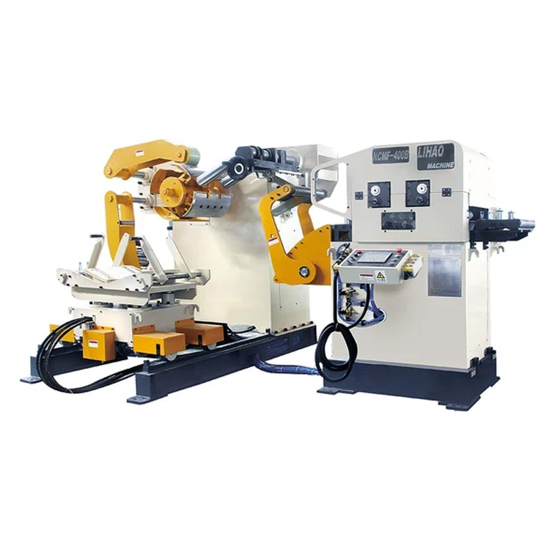 NCMF Type Straightener Feeder & Uncoiler 3 In 1 Machine For Sheet Thickness: 0.2mm~3.2mm