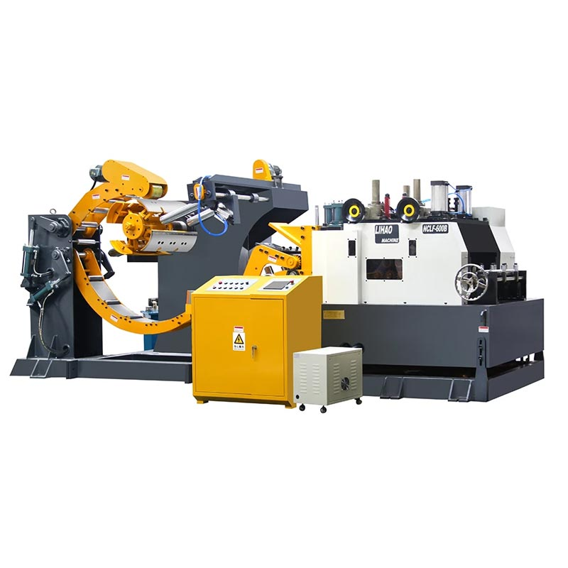 NCLF Type Straightener Feeder & Uncoiler 3 In 1 Machine For Sheet Thickness: 2.0mm~9.0mm