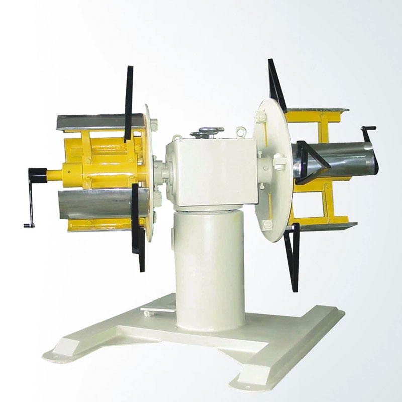 Double ends decoiler machine material equipment recoiling supplier