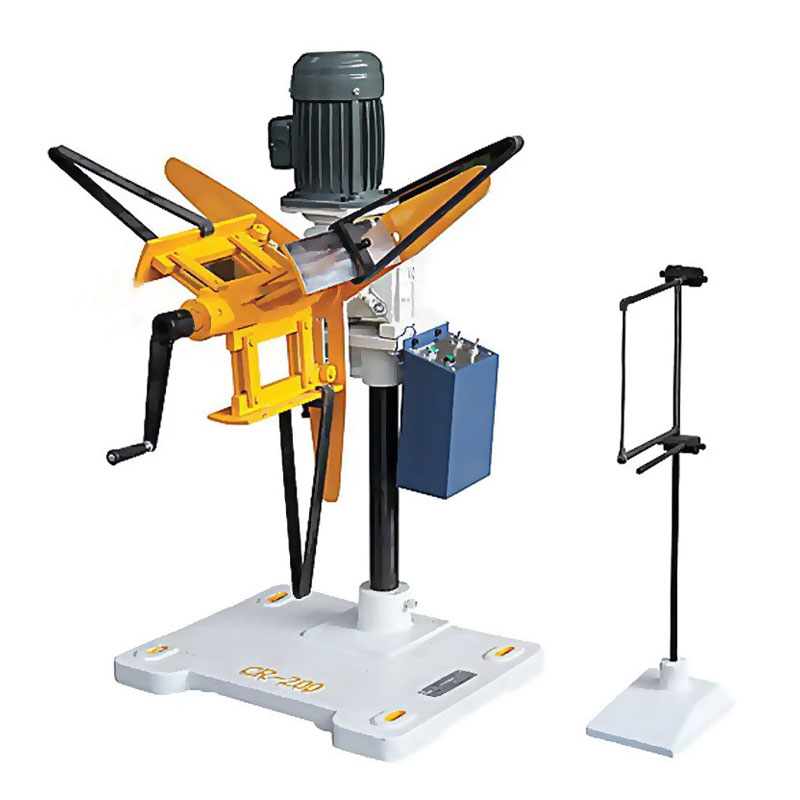 Manual uncoiler machinery CR-80 Decoiler accept 150mm width material contact induction equipment