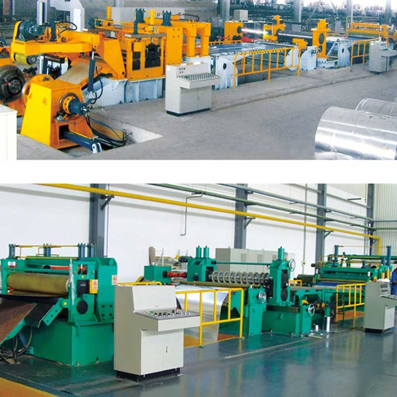 High Speed Precision Slitting Line For Thick Plate