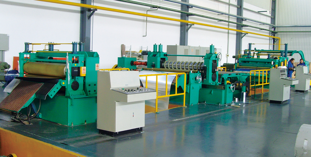 Automatic Slitting Machine Slit Coils with Slitting Knife