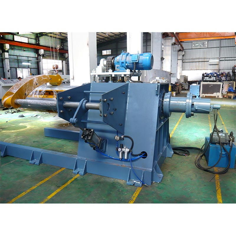 MT Type Heavy Decoiler metal sheet uncoiling machine