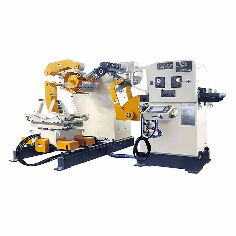 NCMF Type Straightener Feeder & Uncoiler 3 In 1 Machine For Sheet Thickness: 0.2mm~3.2mm