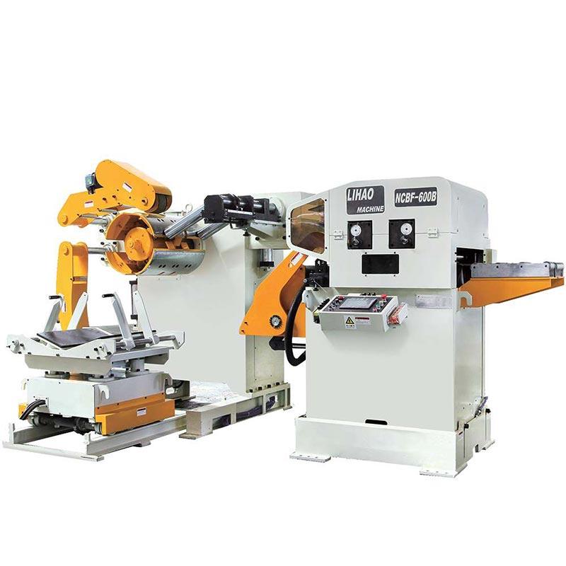 NCBF Type Straightener Feeder & Uncoiler 3 In 1 Machine For Sheet Thickness: 0.5mm~4.5mm
