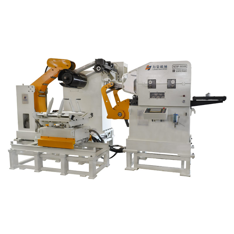 NCSF Type Straightener Feeder & Uncoiler 3 In 1 Feeder For Sheet Thickness: 1.0mm~6.0mm