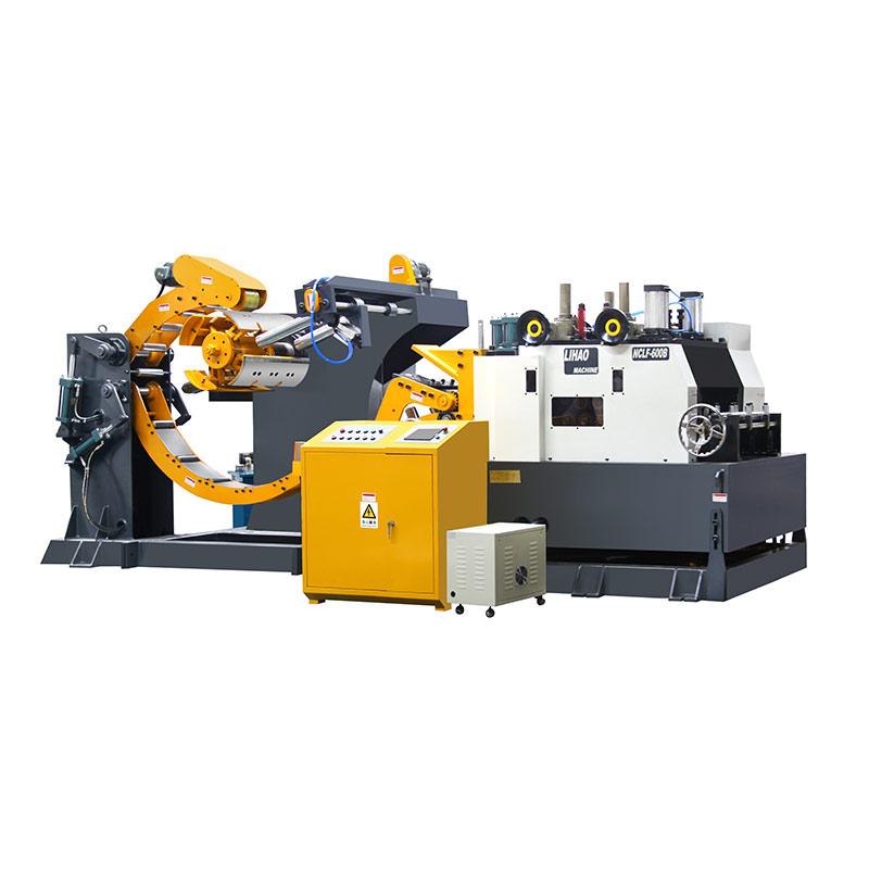 NCLF Type Straightener Feeder & Uncoiler 3 In 1 Machine For Sheet Thickness: 2.0mm~9.0mm